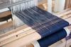Merino/alpaca/silk scarves on the loom (janetsaw) Tags: wool silk alpaca merino scarf weaving handwoven loom 4shaft multishaft twill rosepath advancing handmade