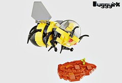 Bumble Bee TERRA-FB 1 Existing Colors 2b (buggyirk) Tags: bumblebee bumble bee plants plant mission terraforming terraformer terraform earth cannon cannons cockpit yellow black bud sprout sprouting water mech robot robots mecha planet science scientific fiction hive colony conservation garden grow life astronaut astronauts vehicle vehicles lego ideas contest moc afol terrafb 1 mars spaceship space toy toys