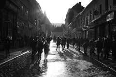 On every street... (Baubec Izzet) Tags: baubecizzet pentax blackandwhite street city light