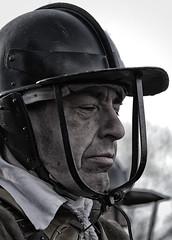 The Commander (Fly bye!) Tags: sealedknot battleofnantwich soldier commander helmet uniform roundhead parliamentarian