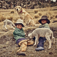 Niños Pastores (milton's) Tags: ayacucho peru view tourism church know inca culture history town altitude andes peruvian puna architecture historic cathedral plaza south america sucre monument
