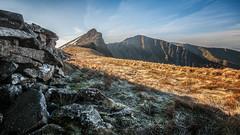 Sheltering from the icy wind at -2° ! (Einir Wyn Leigh) Tags: landscape frozen mountain ridge walking scramble wales blue february winter ice rocks outside rugged rural pleasure