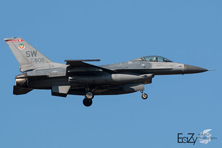 90-0806 United States Air Force General Dynamics F-16CJ Fighting Falcon