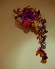Some of Your Five a Day (Steve Taylor (Photography)) Tags: grapes fruit bunches neon wool art sculpture asia singapore