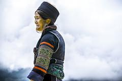 Hmong Woman (Aces Hai) Tags: sapa vietnam mountains fog mist travel hmong woman
