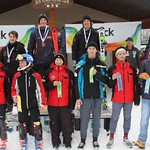Sun Peaks Teck Open Event, January 4 to 7, 2018  - U16 Boys' Slalom