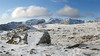 Langdales in Snow 04 (Ice Globe) Tags: langdale langdales valley lake district cumbria bow fell mountain mountains snow snowy icy white winter blue sky panorama wintry weather nikon d5100 35mm scafell pike