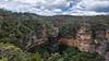 Wentworth Falls (Eddy Summers) Tags: bluemountains wentworthfalls nsw nationalpark bluemountainsnationalpark cliff cliffface cliffwalk waterfall ettr clouds sky landscape pentaxkp da15mmf4