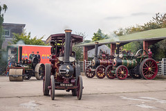 Bishops Castle Michaelmas fair (Ben Matthews1992) Tags: bishops castle michaelmas fair 2017 steam traction engine locomotive old vintage historic preserved preservation vehicle transport england shropshire salop britain british aveling porter roller tractor oberon sm6448 5ton 4nhp allison ophelia fx7043 marshall tm4430 7nhp foster 12539 winnie ma5730
