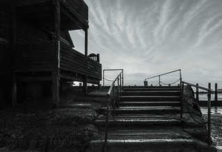 Steps up to the Boat House