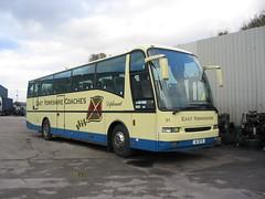 A1EYD Hull  12-11-06 (marktriumphman) Tags: volvo berkhof east yorkshire hull