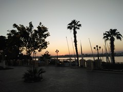 (nanisalleh) Tags: nile river rivernile silhouette sunset trees