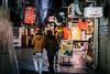 神戸三宮高架沿い #2ーAlong the elevated railway, Sannomiya, Kobe City #2 (kurumaebi) Tags: kobe 神戸市 fujifilm xt20 motomachi 三宮 street 街 dusk