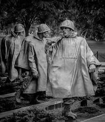 Korean War Memorial (marvhimmel) Tags: washingtondc general koreanwarmemorial pink