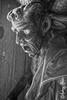 Le diable, entrée de l'église Marie Madeleine (Audrey Abbès Photography ॐ) Tags: renneslechâteau aude églisemariemadeleine devil audreyabbès diable église bénitier bénitierportéparlediable france noir blanc noiretblanc black white blackandwhite hdr domainedelabbésaunière nikon d600
