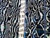 windows (boxerrod) Tags: windows glass geometrical urban blue lines steel black gray white lights city houston lookup reflections shiny samsung frame image