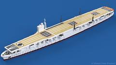Taneen-class fleet carrier (Awesome-o-saurus) Tags: lego ship carrier aircraft