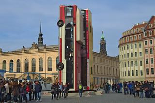 Dresden Mahnmal Kunst