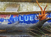 Blue (Andy Magee) Tags: boat wreck colour blue text old water lochlomond balloch sony scotland