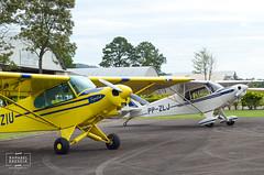 Piper PA-18 Super Cub e CAP-4 Paulistinha (raphaelbrescia) Tags: ssln aviação aviation taildragger convencional antique classic clássico antigo vintage experimental