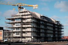 Under Construction (Håkan Dahlström) Tags: 2018 architecture construction house hyllie hyllievång malmö photography site skåne sweden skånelän xt1 f80 1350sek xf1855mmf284rlmois uncropped 36004022018134729 se