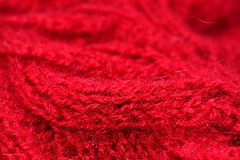 Warm (Zsofia Nagy) Tags: ourdailychallenge warm knitting knitted texture textile red pattern flickrlounge saturdaytheme macro filltheframe 52in2018challenge