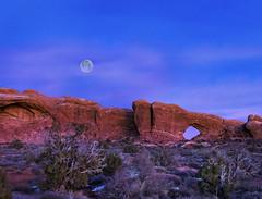 Blue Moon Arch (McKendrick Photography) Tags: archesnationalpark moab utah sandstone blue moon arch windowarch