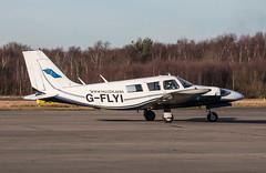 EGLK - Piper PA34 Seneca 2 - G-FLYI (lynothehammer1978) Tags: eglk bbs blackbushe blackbusheairport gflyi piperpa34seneca2