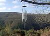 Davis Blanchard Pluto wind chime, overlooking Teign Gorge (Philip_Goddard) Tags: europe unitedkingdom britain british britishisles greatbritain uk england southwestengland devon dartmoornationalpark drewsteignton teignvalley teigngorge hunterspath windchimes davisblanchard