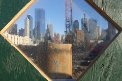 Window on the Works (Henry Hemming) Tags: newyork bigapple street photography work workers construction building sun activity america usa