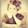 Mama with Bow - 2 (booboo_babies) Tags: valentinesday girl sepia sepiatone blackwhite 1930s mother throwbackthursday tbt vintage thirties dubuque dubuqueiowa