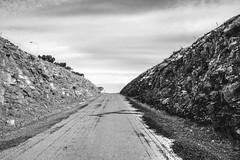 Volcano exit (Miguel Angel Prieto Ciudad) Tags: volcano volcanic black blancoynegro blackandwhite geology mirrorless monochrome landscape spain campodecalatrava castillalamancha ciudadreal sony sonyalpha sonyalphadslr ngc negro
