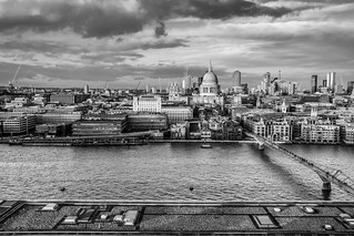 London Cityscape with St.Paul's Cathedral