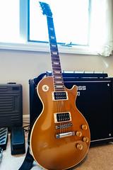 Guitar Gear (stingx) Tags: lespaul boss katana guitar amp amplifier studio