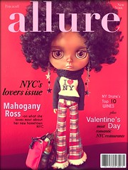 ALLURE Magazine Cover Girl:   February 2018  {Mahogany Ross}     ...I ❤️ NY...