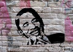 streetart in amsterdam (wojofoto) Tags: amsterdam streetart graffiti nederland netherland holland wojofoto wolfgangjosten pasteup wheatpaste stencil stencilart obama