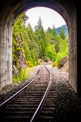 Then I Will Remember (Thomas Hawk) Tags: america glendale oregon southernoregon usa unitedstates unitedstatesofamerica traintracks tunnel