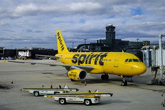 Airbus A320 - MSN 4431 - N604NK  Spirit Airlines (Matthias Harbers) Tags: 1 panasonic dmctx1 photoshop elements topaz lumix zs100 tz100 dxo labs transportation public airplane passenger plane traveling traffic aircraft outdoor airliner jet jetliner airport