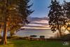 Vancouver Island Sunset (Selkii's Photos) Tags: britishcolumbia dusk evening seascape strait straitofjuandefuca sunset vancouverisland water