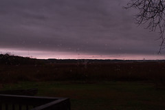 Dixon_JB_342_3726 (Joanne Bouknight) Tags: bunkhouse dixonwaterfowlrefuge illinois mist morning rain storm sunrise thewetlandsinstitute yard