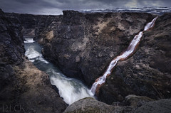 Kolugjúfur Waterfall (Russell Eck) Tags: kolugjúfur waterfall iceland gorge canyon rugged nature landscape long exposure water river russell eck