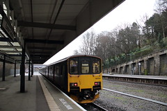 150104 Exeter Central, Devon (Paul Emma) Tags: uk england devon exetercentral exeter dieseltrain train railway railroad 150104