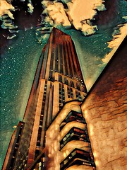 Winter in the city (jackaloha2) Tags: building tall skyscrappers urban urbanart city artistic