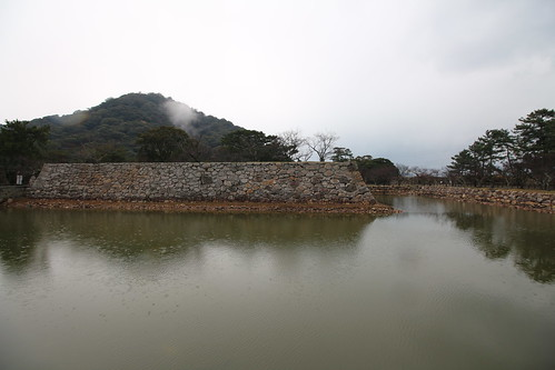 Hagi Castle Inner Moat and Walls #3