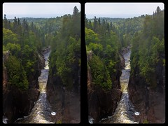 Aguasabon Falls & Gorge 3-D / CrossView / Stereoscopy / HDR / Raw (Stereotron) Tags: waterfall cascade cataract falls aguasabon gorge lake superior river hydro autumn mist north america canada province ontario crosseye crosseyed crossview xview cross eye pair freeview sidebyside sbs kreuzblick 3d 3dphoto 3dstereo 3rddimension spatial stereo stereo3d stereophoto stereophotography stereoscopic stereoscopy stereotron threedimensional stereoview stereophotomaker stereophotograph 3dpicture 3dglasses 3dimage hyperstereo twin canon eos 550d yongnuo radio transmitter remote control synchron kitlens 1855mm tonemapping hdr hdri raw