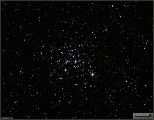Messier 36 Open Cluster in the Constellation Auriga