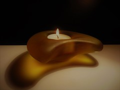 Light and Shadow (Hannelore_B) Tags: macro licht light schatten shadow kerze candle