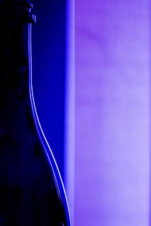 curvaceous blue line