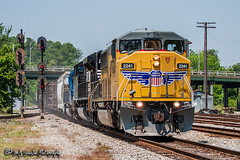 UP 2241 | EMD SD60M | CSX M&M Subdivision (M.J. Scanlon) Tags: business csxq572 canon capture cargo commerce digital emd eos engine freight haul horsepower locomotive logistics mjscanlon mjscanlonphotography merchandise mojo move mover moving outdoor outdoors photo photograph photographer photography picture q572 rail railfan railfanning railroad railway sd60m scanlon sky steelwheels super track train trains transport transportation tree triclops up up2241 unionpacific wow
