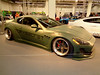 Maserati GranTurismo (911gt2rs) Tags: messe event show ems tuning tief low stance breit widebody bodykit libertywalk verbreitert oliv military coupe sportwagen custom spoiler grün green